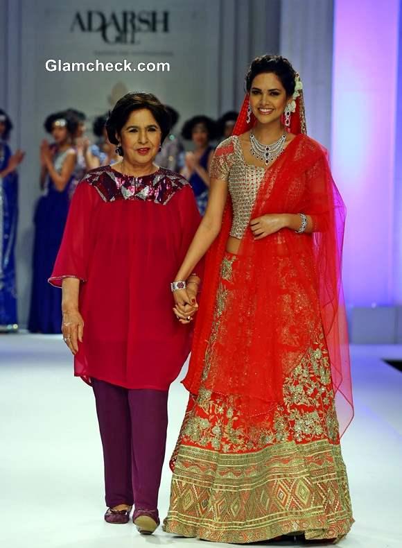 India Bridal Fashion Week 2013 Day 5 Adarsh Gill