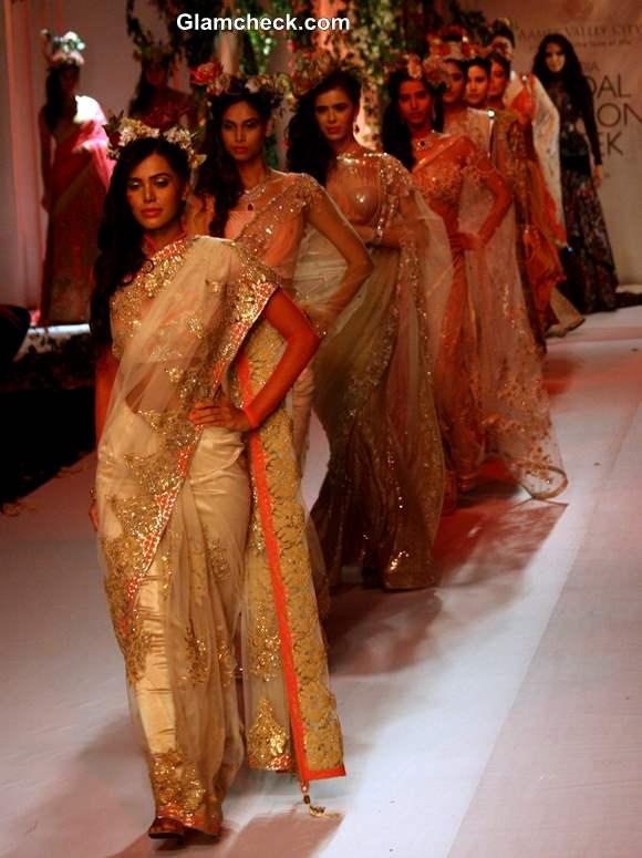 India Bridal Fashion Week 2013 Falguni Shane Peacock day 3 collection