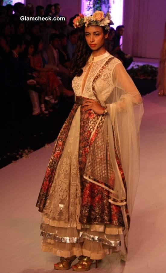 India Bridal Fashion Week 2013 Falguni Shane Peacock day 3