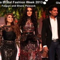 India Bridal Fashion Week 2013 Falguni and Shane Peacock