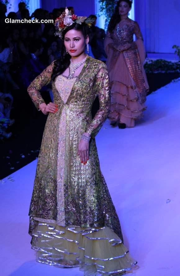 India Bridal Fashion Week 2013 Falguni and Shane Peacock collection