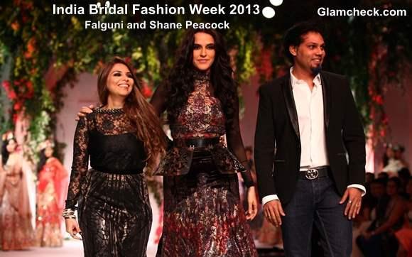 India Bridal Fashion Week 2013 Falguni and Shane Peacock