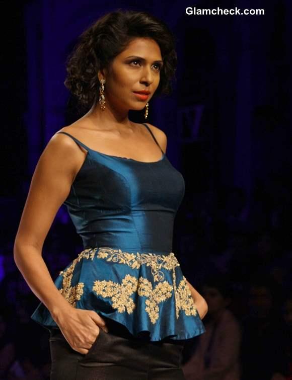 India Bridal Fashion Week 2013 Jyotsana Tiwari Peplum trend