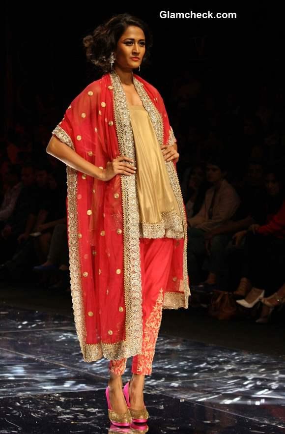 India Bridal Fashion Week 2013 Jyotsana Tiwari day 2