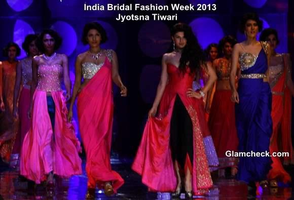 India Bridal Fashion Week 2013 Jyotsana Tiwari