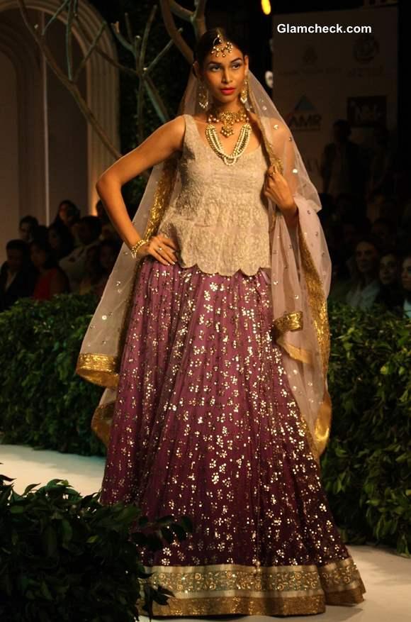 India Bridal Fashion Week 2013 Meera Muzaffar Ali bridal collection