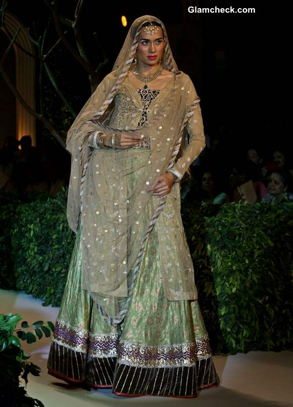 India Bridal Fashion Week 2013 Meera Muzaffar Ali collection