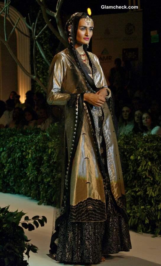 India Bridal Fashion Week 2013 Meera Muzaffar Ali lehenga
