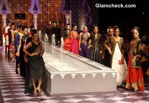 India Bridal Fashion Week 2013 Raghavendra Rathore Dy 3 Show