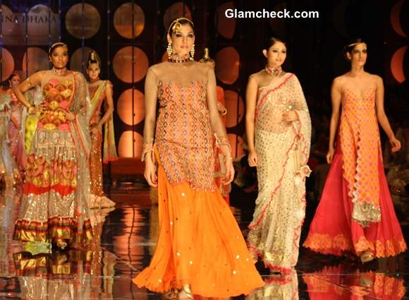 India Bridal Fashion Week 2013 Rina Dhaka collection day 2