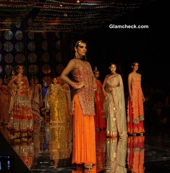 India Bridal Fashion Week 2013 Rina Dhaka collection