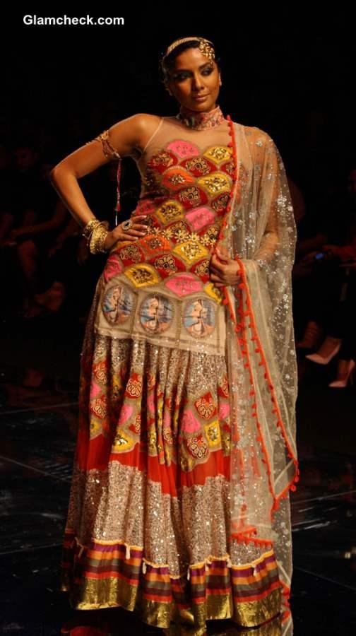 India Bridal Fashion Week 2013 Rina Dhaka day 2