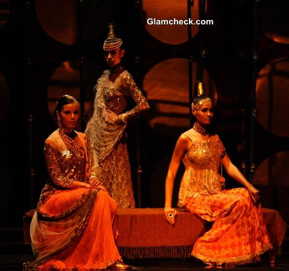 India Bridal Fashion Week 2013 Rina Dhaka show