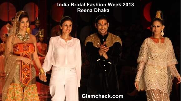 India Bridal Fashion Week 2013 Rina Dhaka