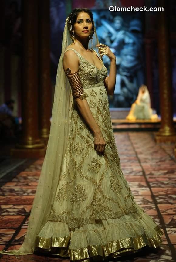 India Bridal Fashion Week 2013  Suneet Varma Bridal wear