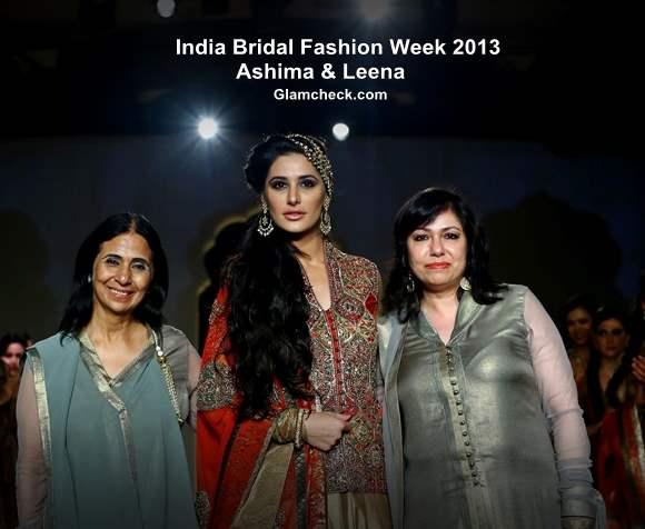 India Bridal Fashion Week Day 4 Ashima and Leena
