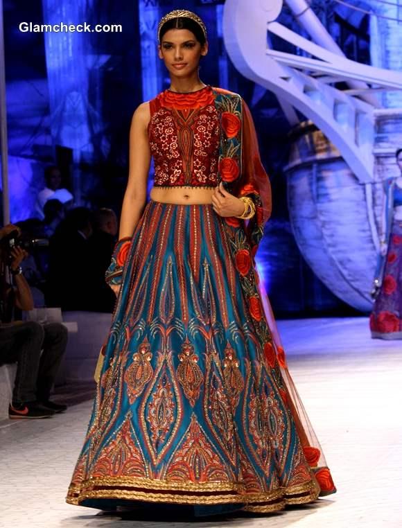 India Bridal Fashion week 2013 JJ Valaya show day 1
