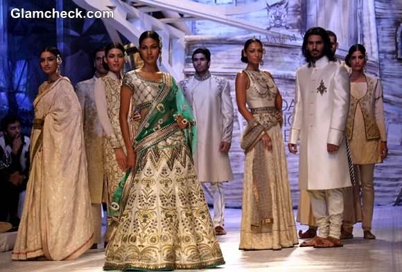 India Bridal Fashion week 2013 day 1 JJ Valaya show