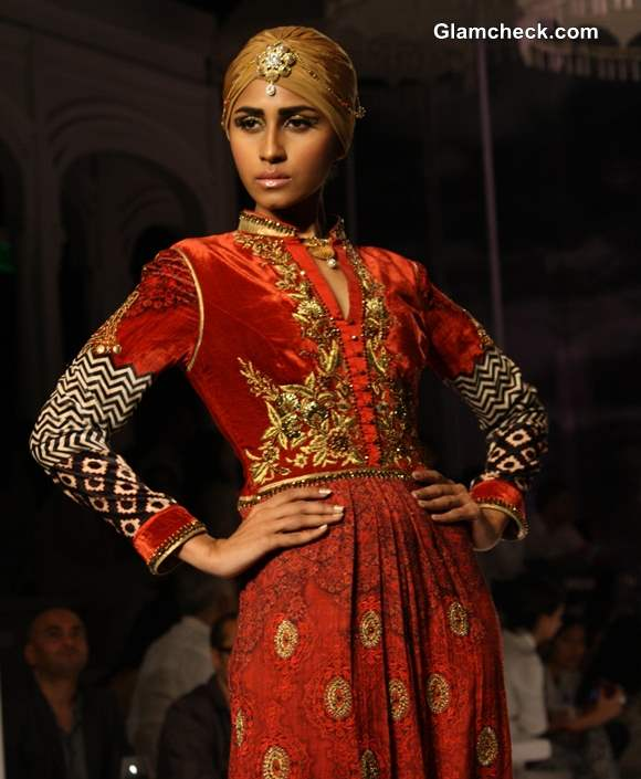 JJ Valaya India Bridal Fashion week 2013 day 1