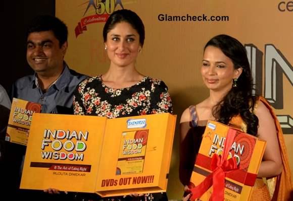 Kareena Kapoor Launches Indian Food Wisdom DVD