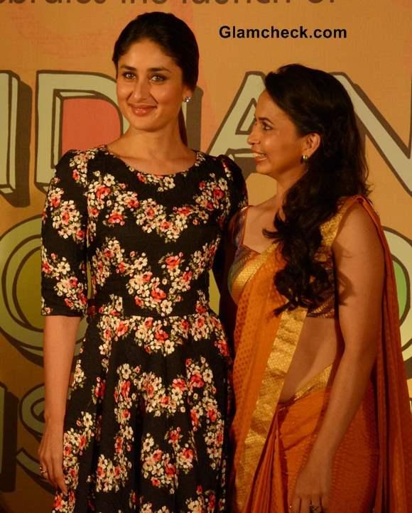 Kareena Kapoor at Indian Food Wisdom DVD Launch