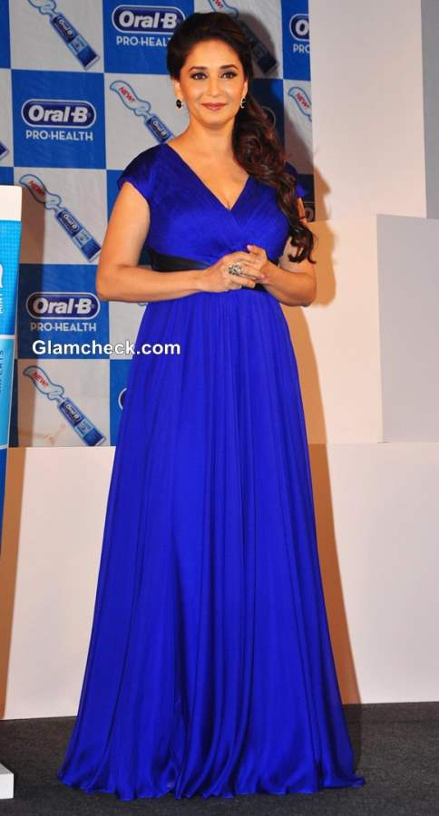 Madhuri Dixit at Oral-B new Pro Health toothpaste launch 2013