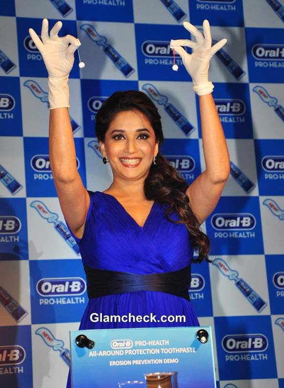 Madhuri Dixit launches Oral-B new Pro Health toothpaste
