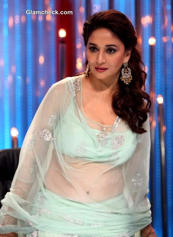 Madhuri Dixit outfits 2013 on Jhalak Dikhla Ja