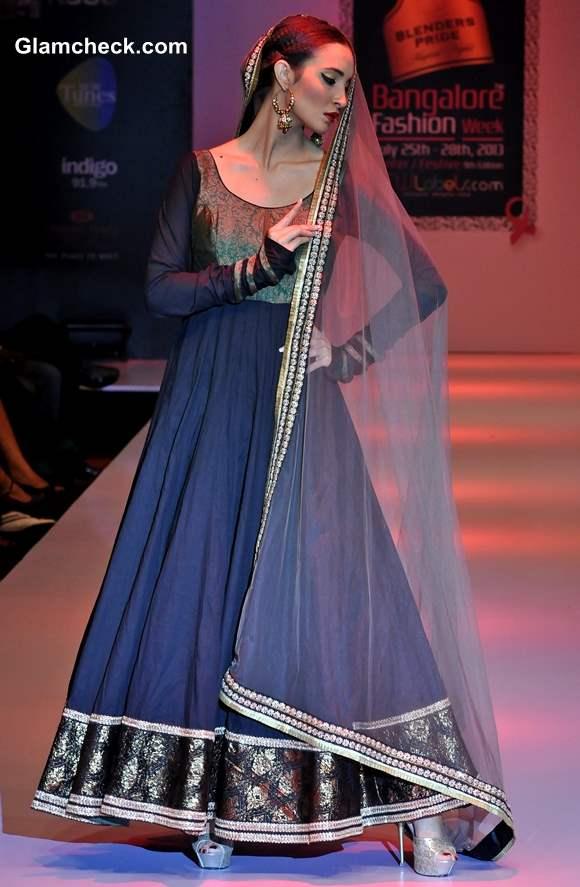 Maushmi Badra Bangalore Fashion Week Winter-Festive 2013 Collection