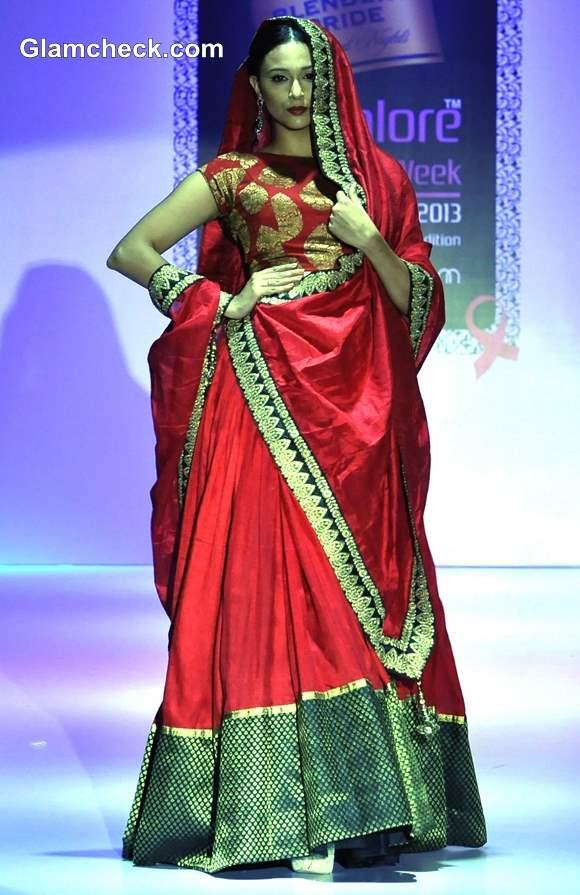 Maushmi Badra Bangalore Fashion Week Winter-Festive 2013