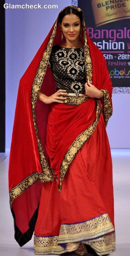 Maushmi Badra Collection Bangalore Fashion Week Winter-Festive 2013