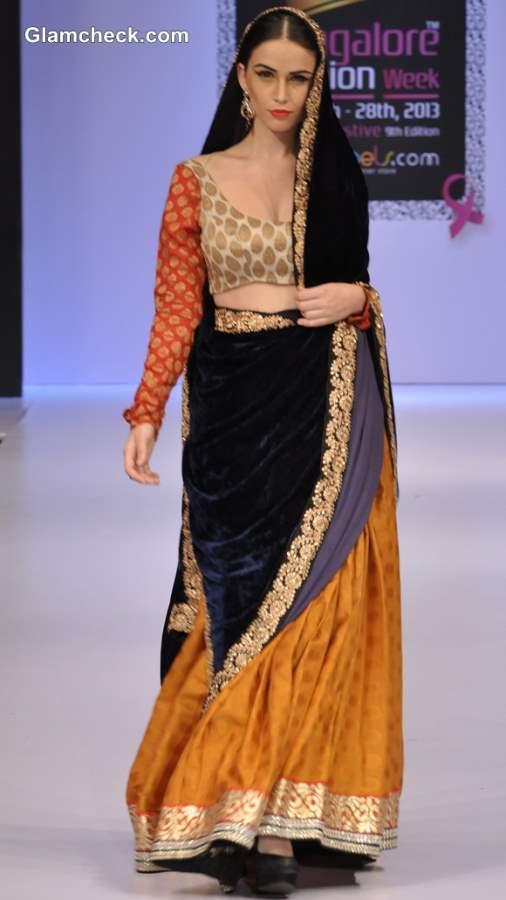 Maushmi Badra Show Bangalore Fashion Week Winter-Festive 2013