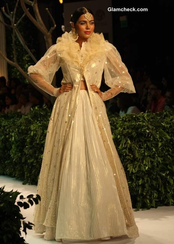 Meera Muzaffar Ali India Bridal Fashion Week 2013 collection