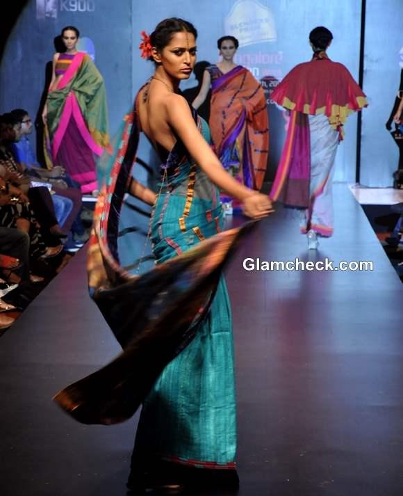 Monapali Collection Bangalore Fashion Week Winter Festive 2013