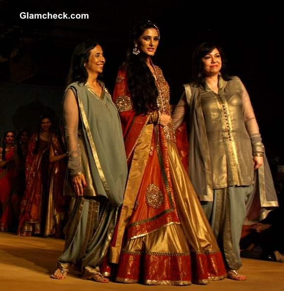 Nargis Fakhri at India Bridal Fashion Week 2013 Ashima and Leena Show