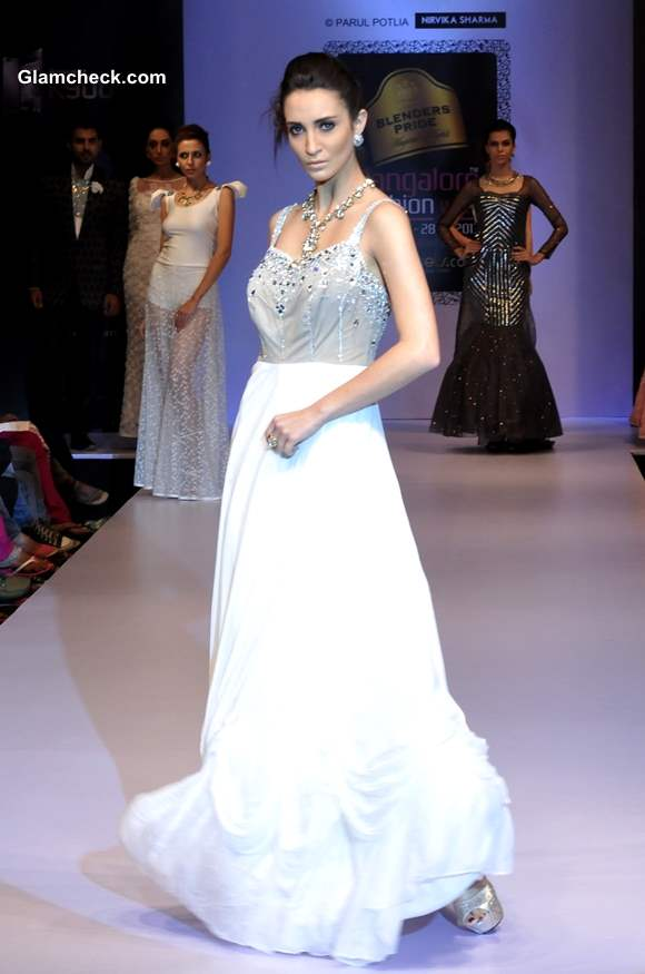 Nirvika Sharma Bangalore Fashion Week Winter Festive 2013