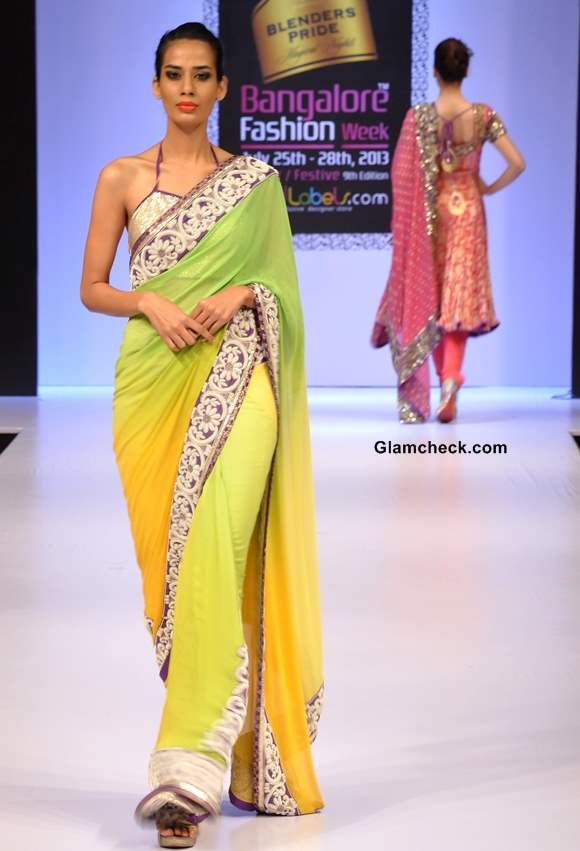 Bangalore fashion week winter festive 2013 nupur anirudh Bangalore fashion style week