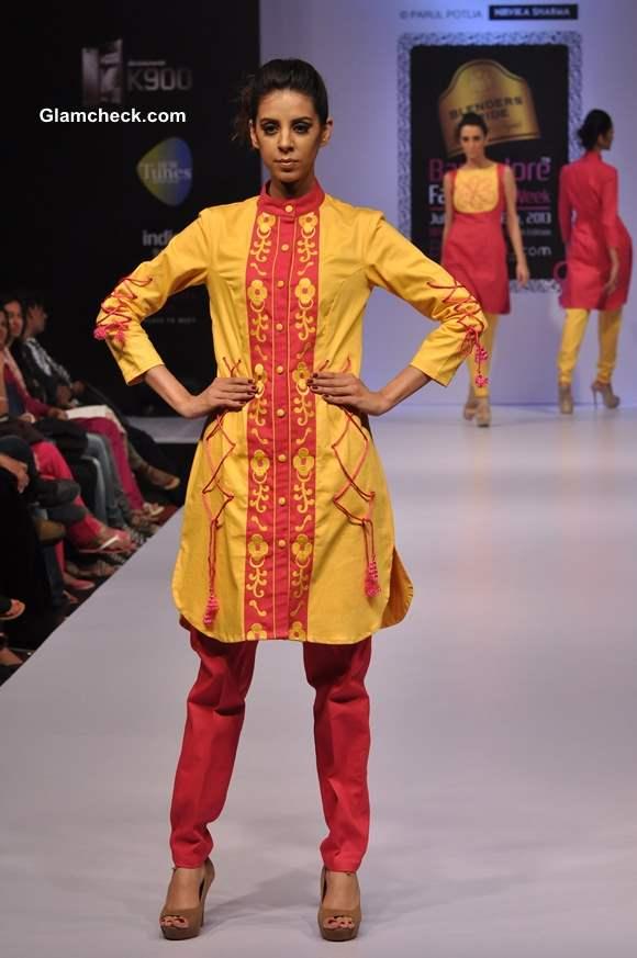 Parul Potlia Bangalore Fashion Week Winter Festive 2013