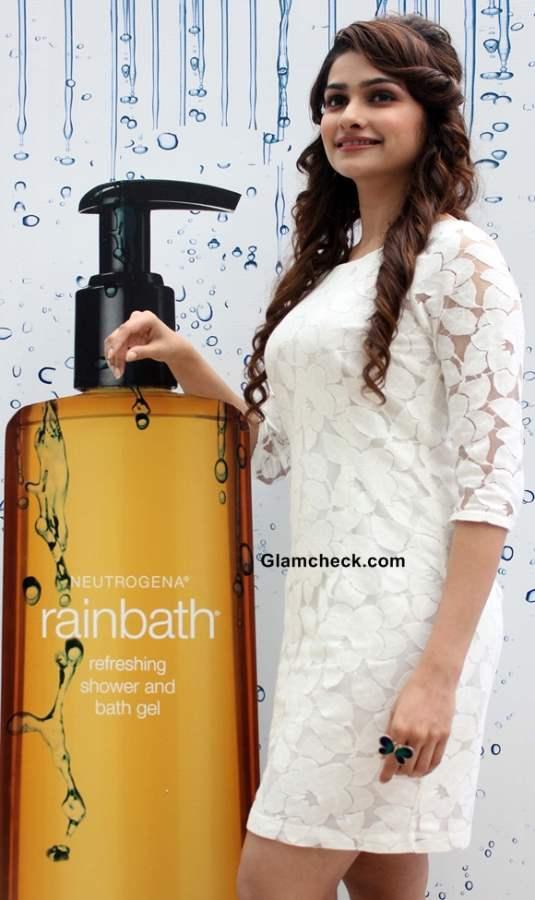 Prachi Desai at Rainbath Refreshing Shower Bath Gel launch 2013
