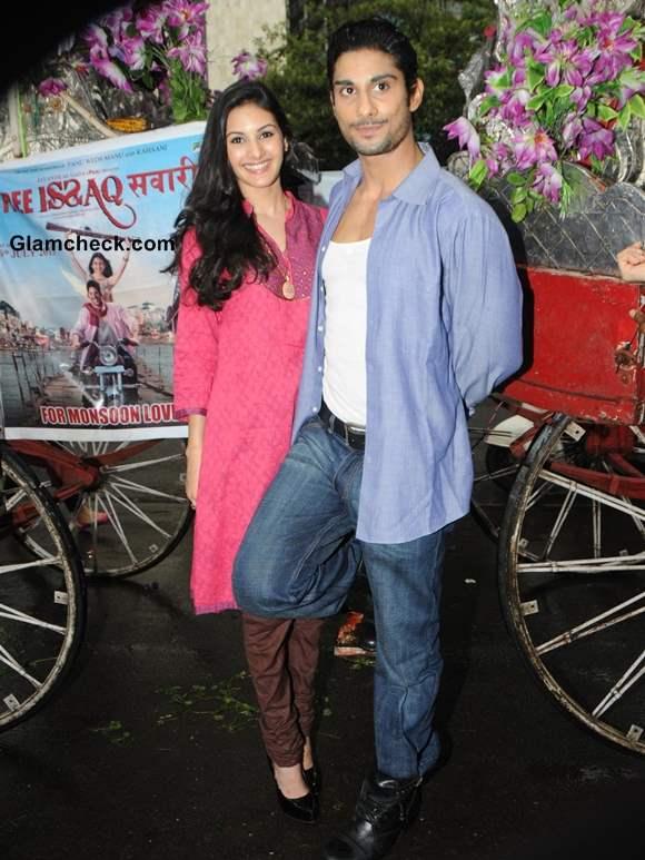 Prateik Babbar and Amyra Dastoor Promote Isaaq in Mumbai