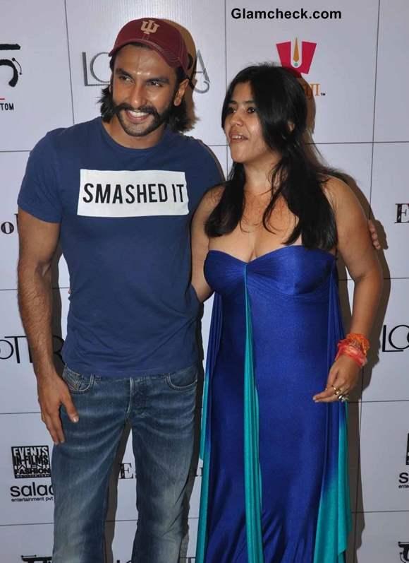 Ranveer Singh Ekta Kapoor 2013
