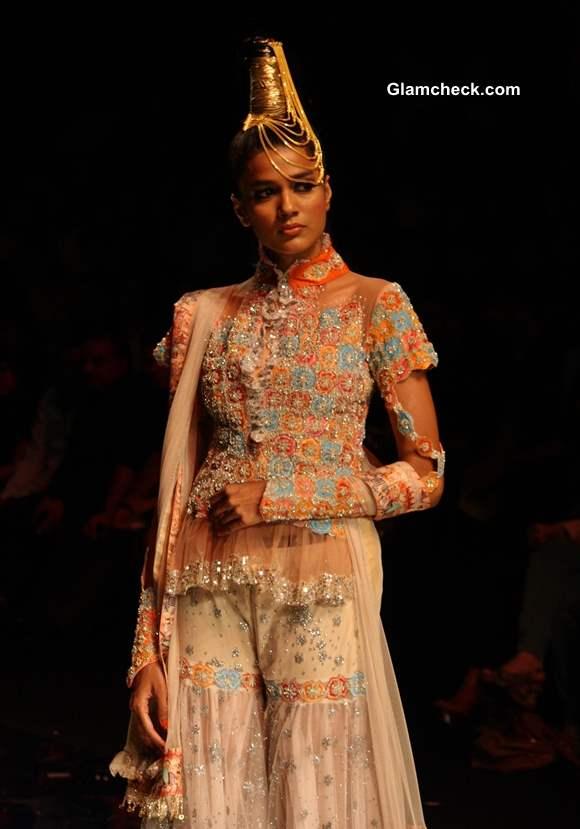 Rina Dhaka at India Bridal Fashion Week 2013