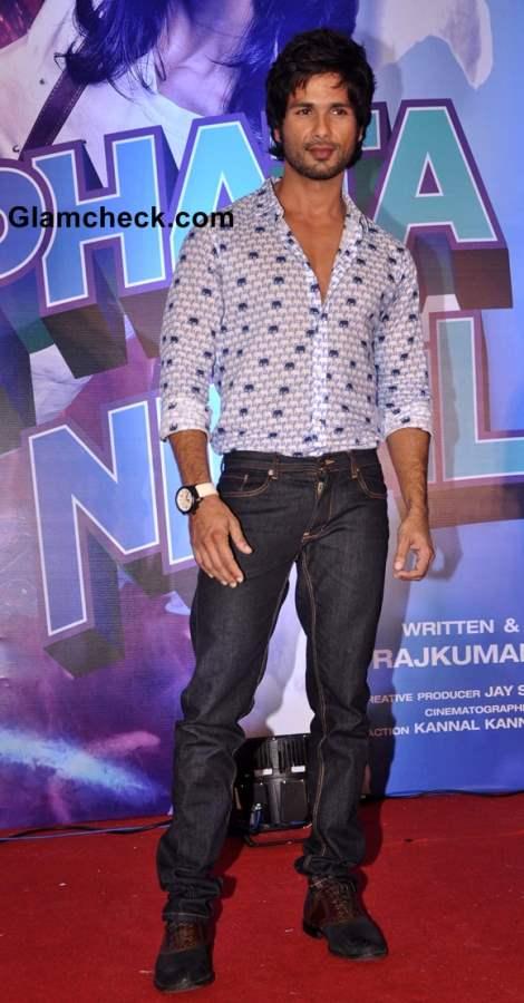 Shahid Kapoor at Phata Poster Nikla Hero Promos in Mumbai