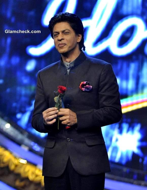 Shahrukh Khan Indian Idol Jr to Promote Chennai Express