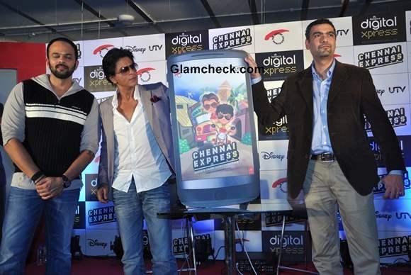 Shahrukh Khan Launches Chennai Express Game