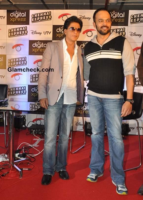 Shahrukh Khan at Chennai Express Game launch