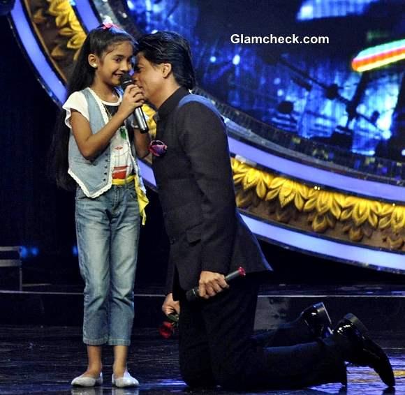 Shahrukh Khan on Indian Idol Jr to Promote Chennai Express