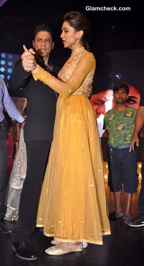 Sharukh Deepika 2013 promotes Chennai Express Madhubala Ek Ishq Ek Junoon