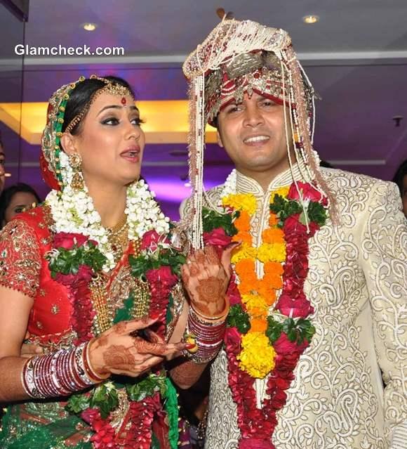 Shweta Tiwari Abhinav Kohli Tie the Knot