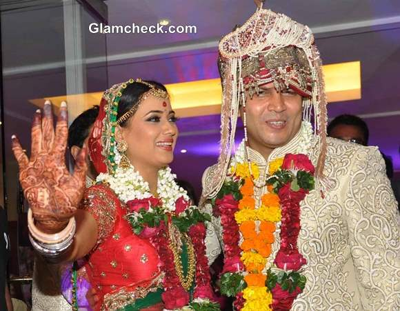 Shweta Tiwari and Abhinav Kohli married